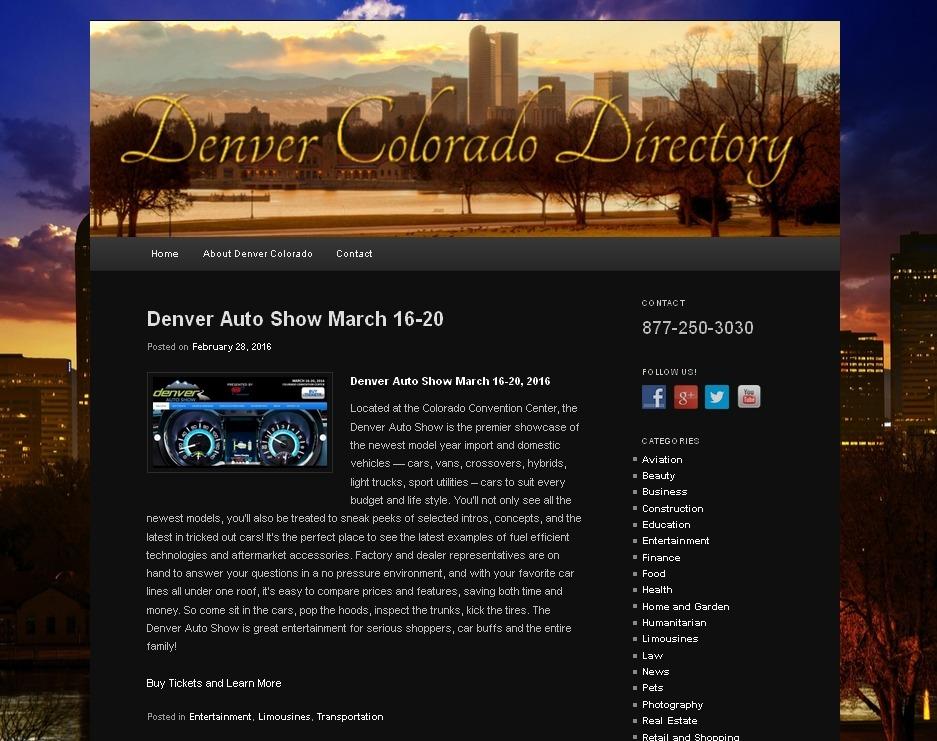 Denver CO Directory
