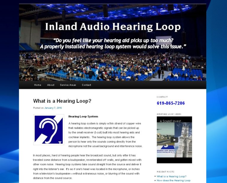 Hearing Loop Website