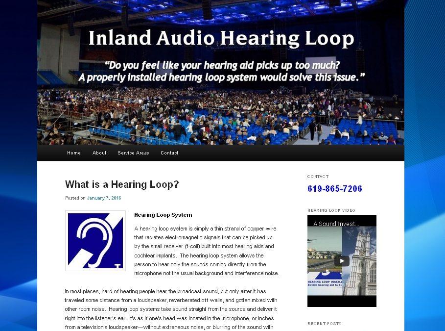 Hearing Loop Website
