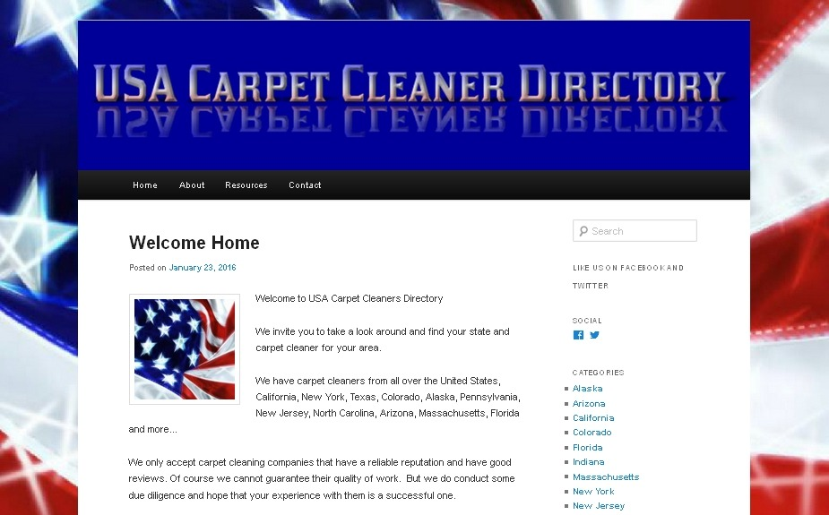 USA Carpet Cleaner Directory