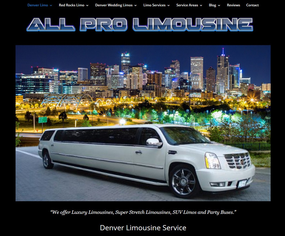 All Pro Limousine Denver CO